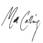 Matt Catling Signature