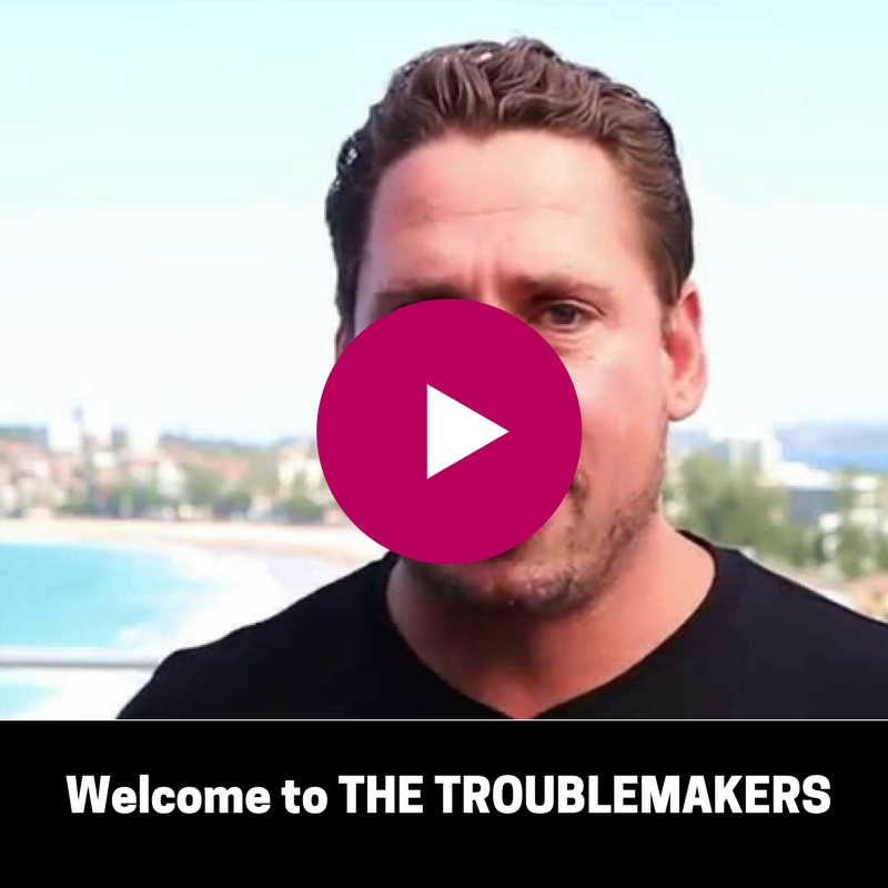 YouTube - Welcome to THE TROUBLEMAKERS